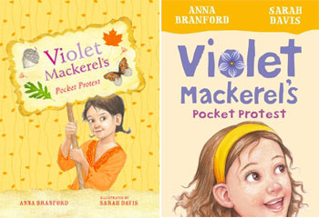 Violet Mackerel book 6 - Pocket Protest